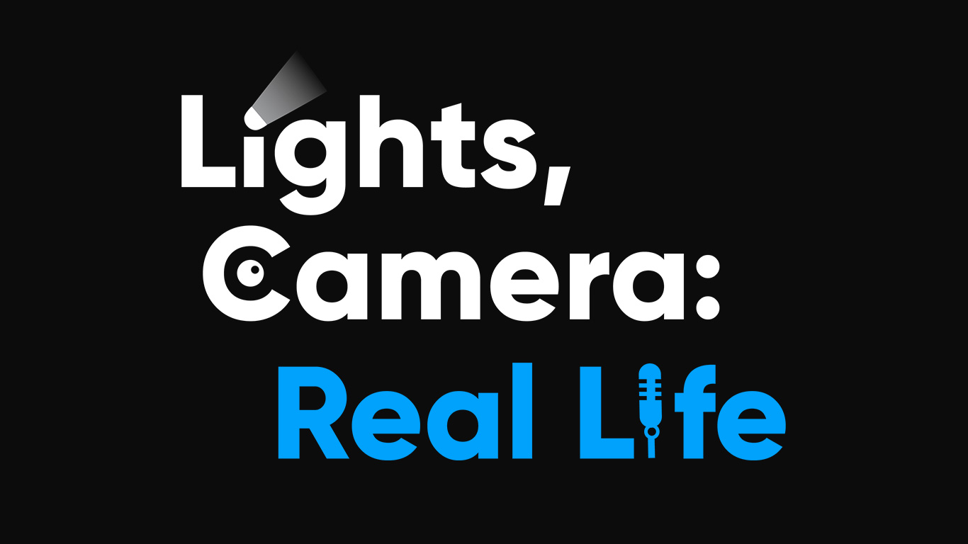 Lights, Camera: Real Life main logo alternative