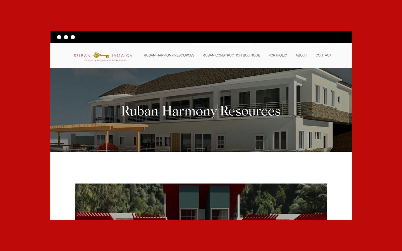 Screenshot of Ruban Harmony Resources