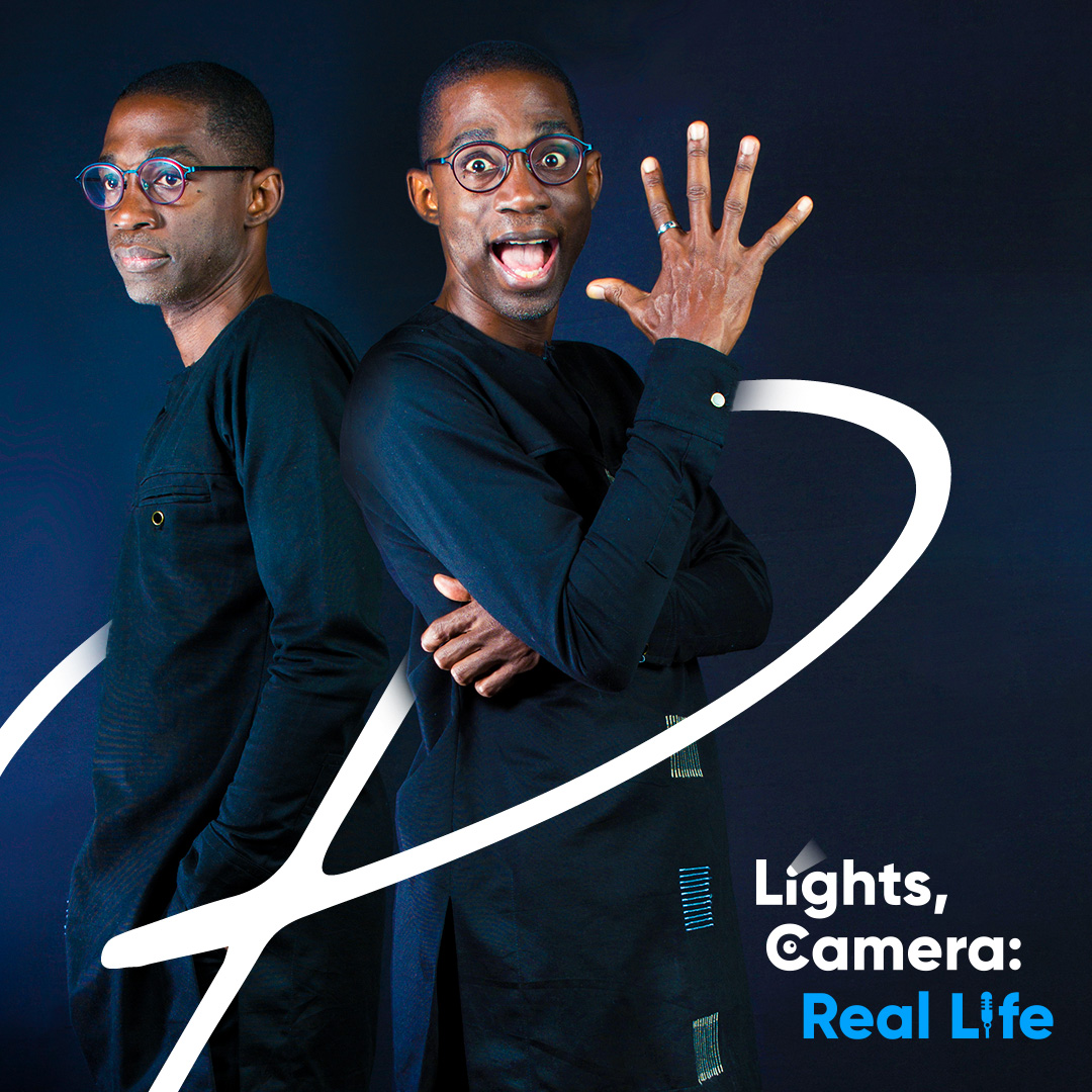Lights, Camera: Real Life podcast cover art