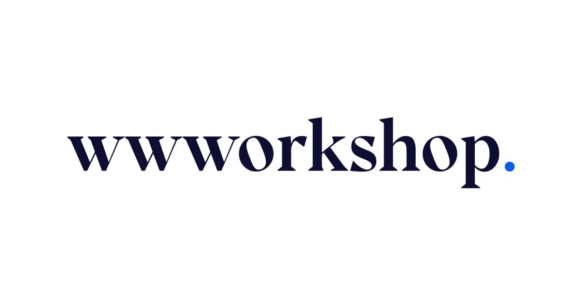 wwworkshop logo on light background