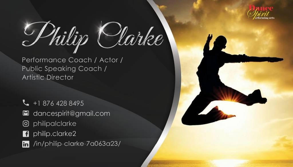 Philip Clarke professional business card