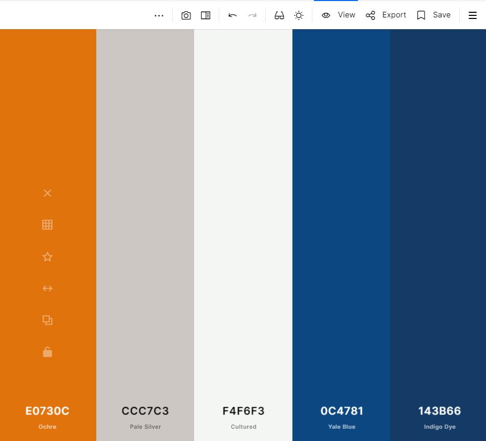 Importing ColorKuler Instagram colour palette into Coolors