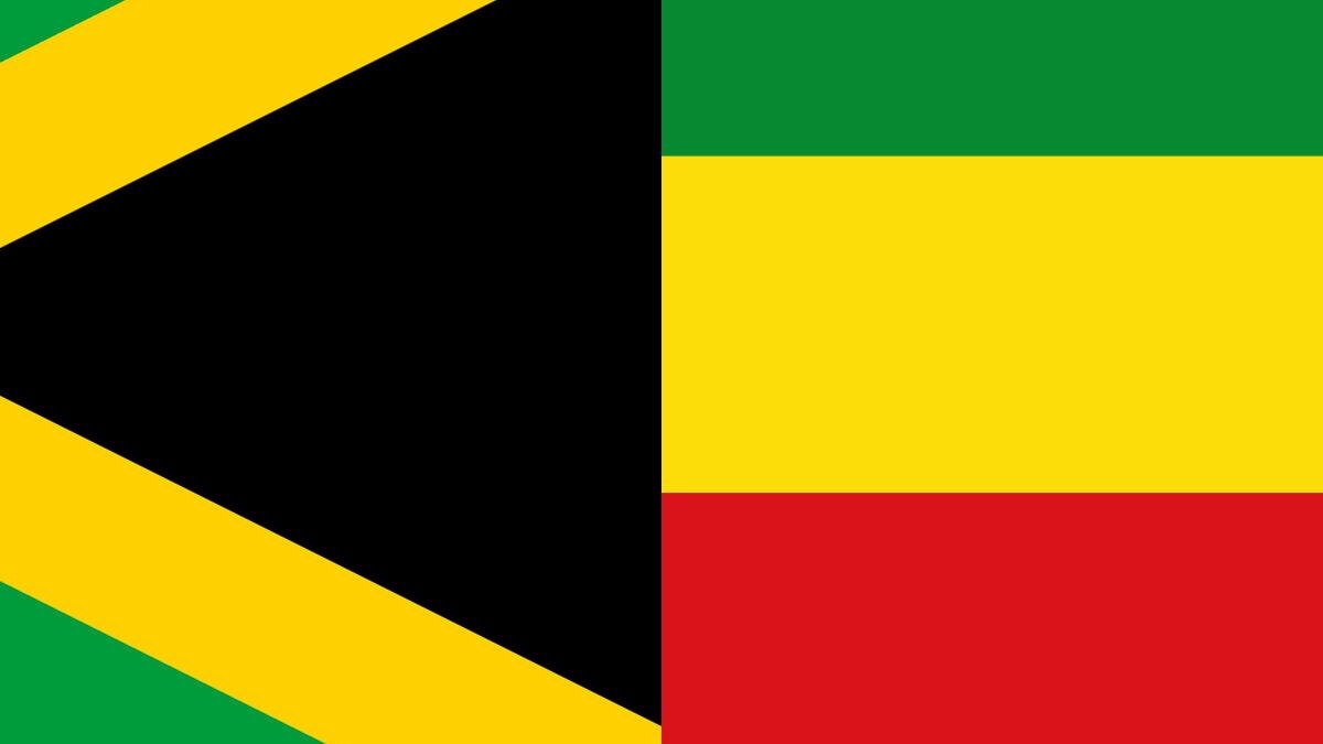 Jamaican flag colour theory: black
