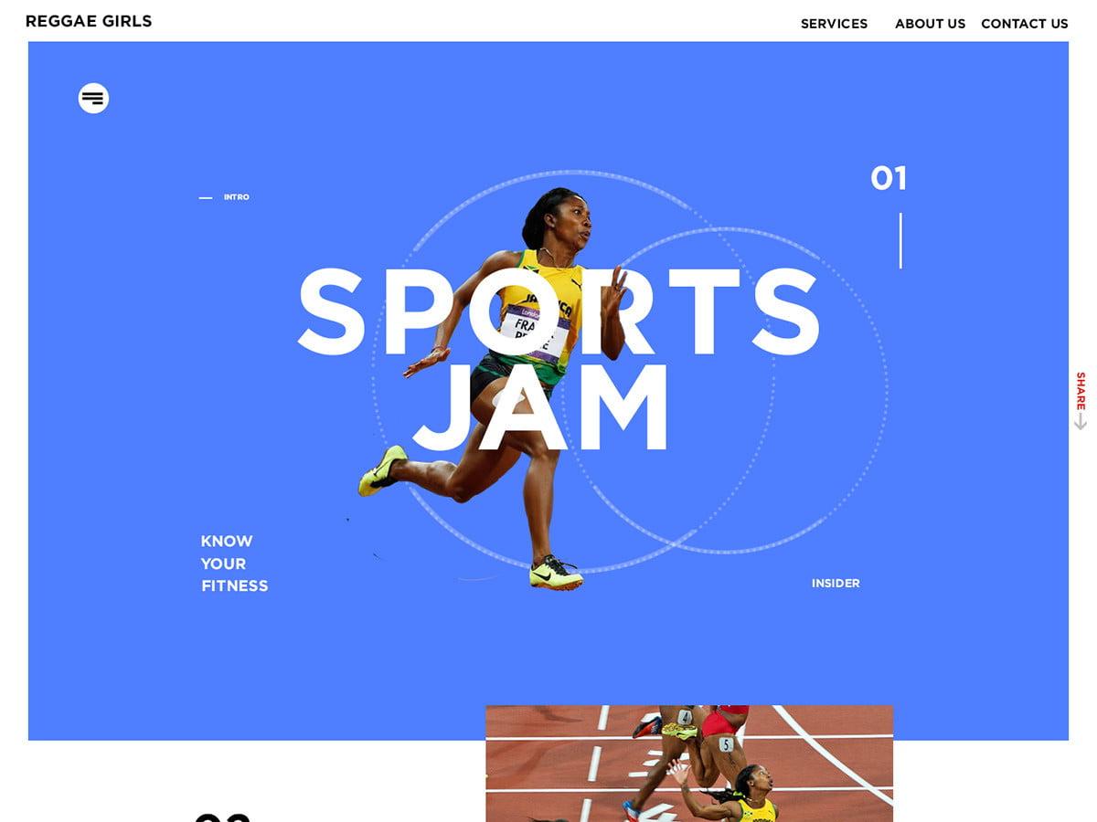Sports Jam UI concept by Deangelo Humphrey