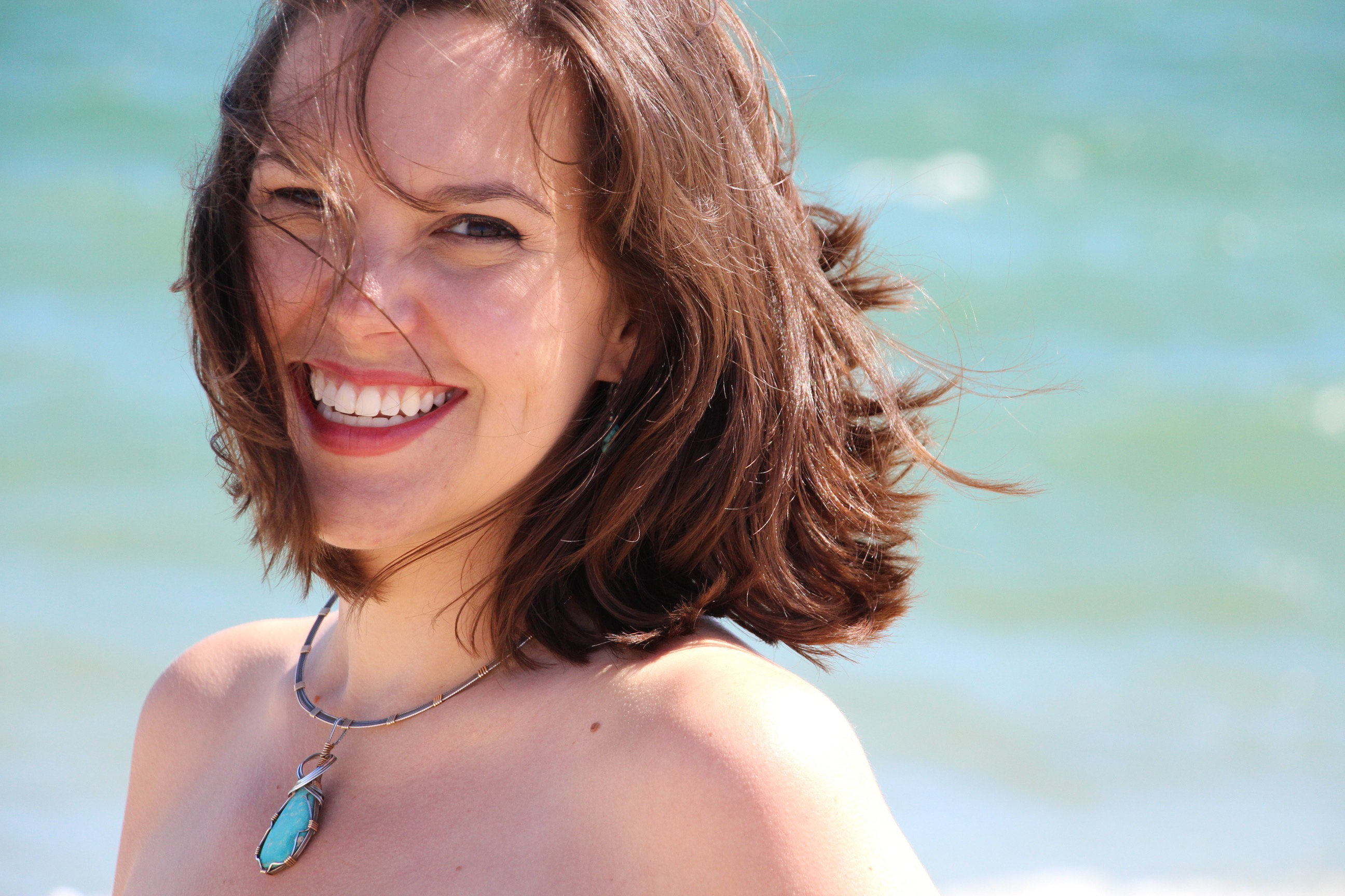 Headshot of Jessica Paschke smiling.