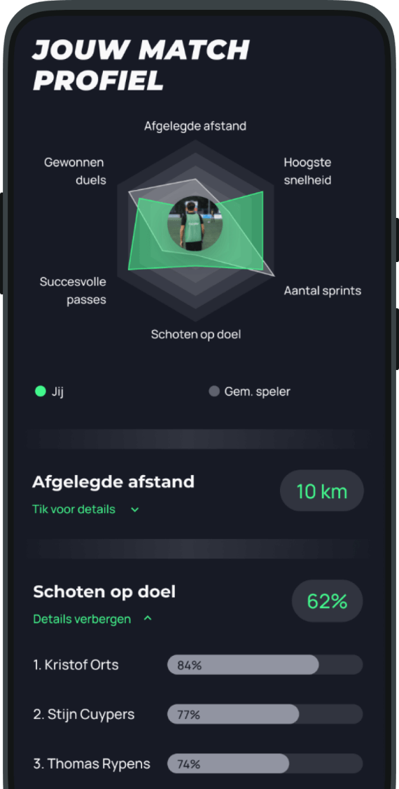 Mypitch game stats