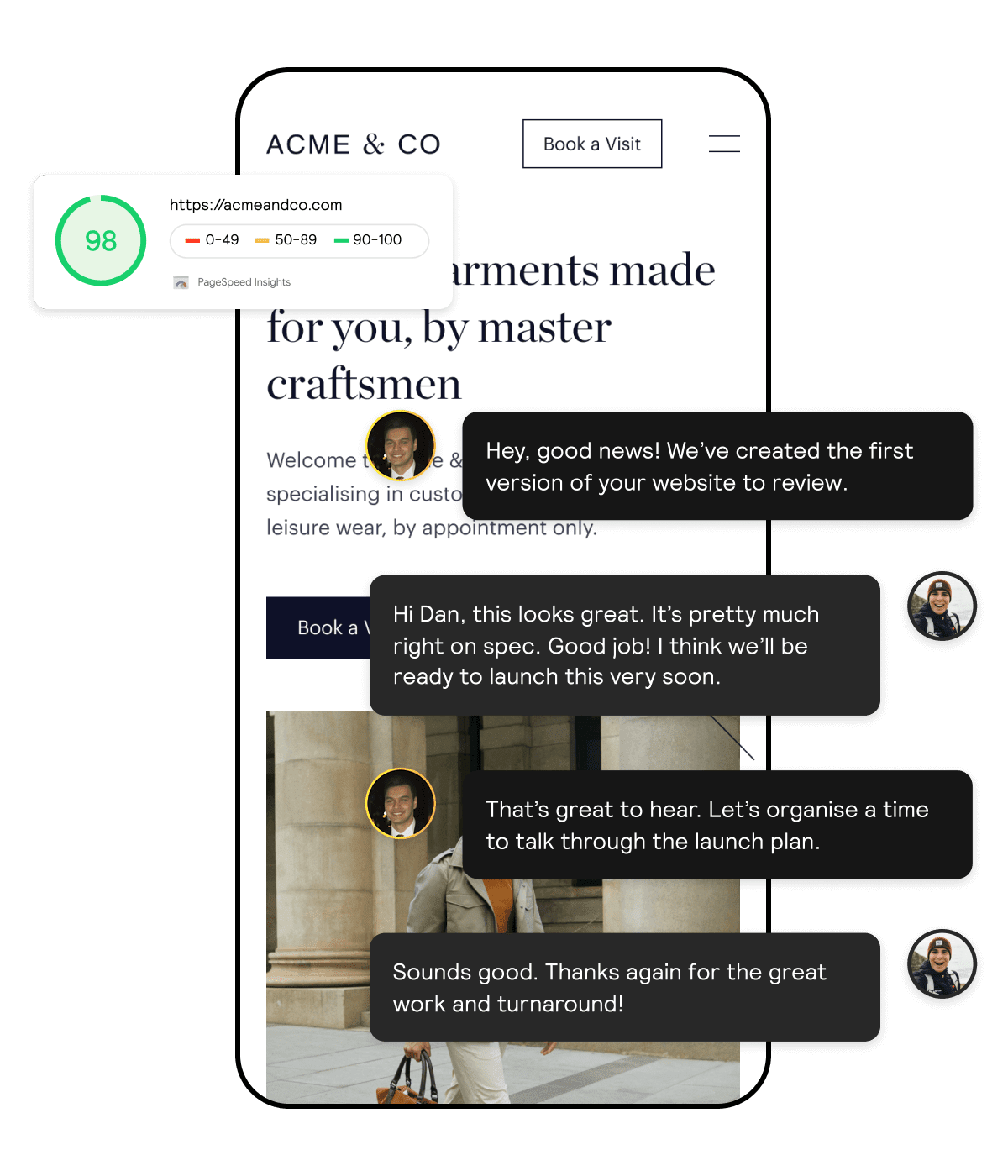 Client experience with Open Omega