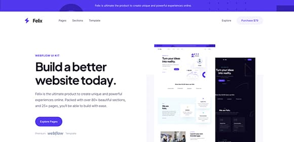 Open Omega client website preview 1
