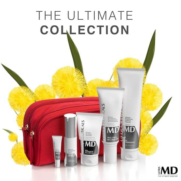 UltraMD skincare range
