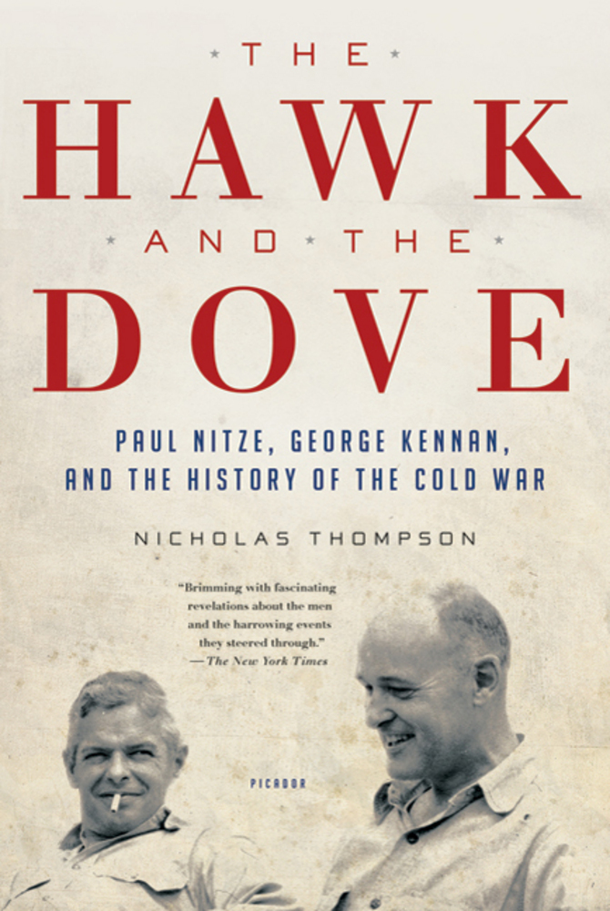 Book Cover of The Hawk and the Dove