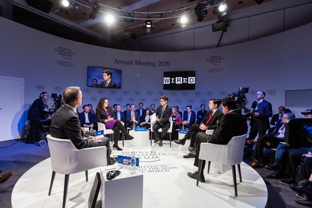Talk at World Economic Forum
