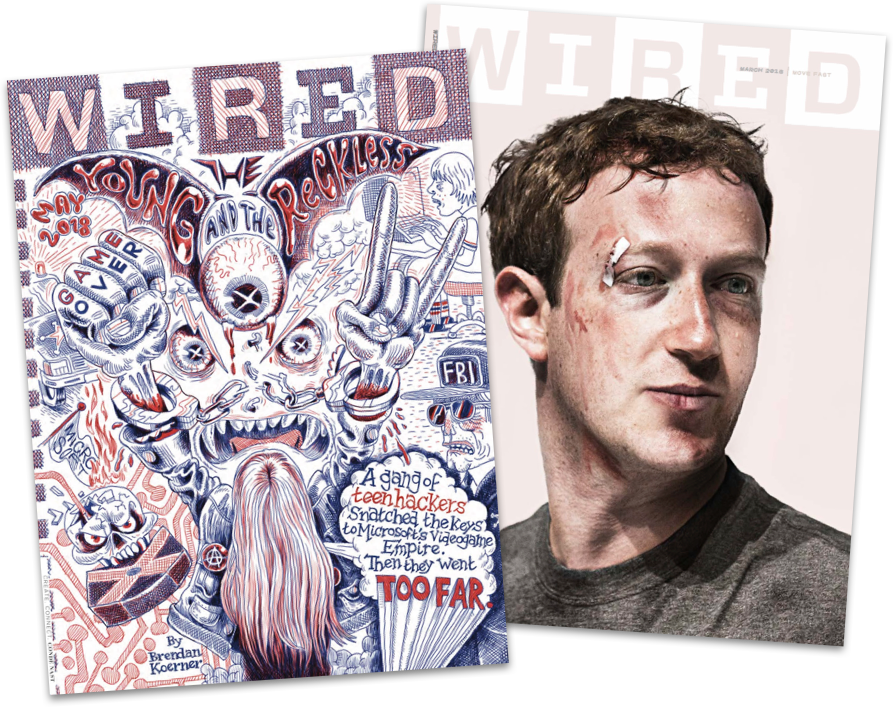 wired magazine covers