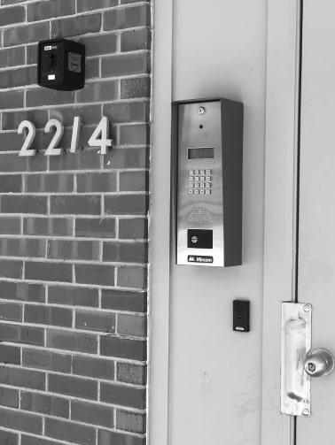Entry Intercom, HD Security Cameras, Intrusion Alarm