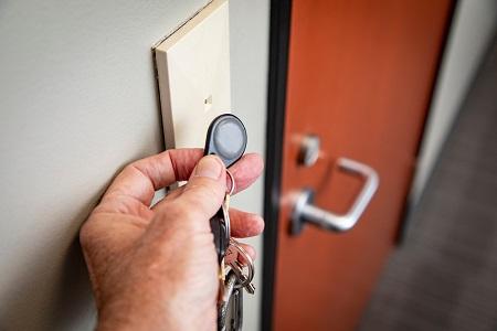 key fob entry system