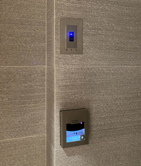 electronic access control.