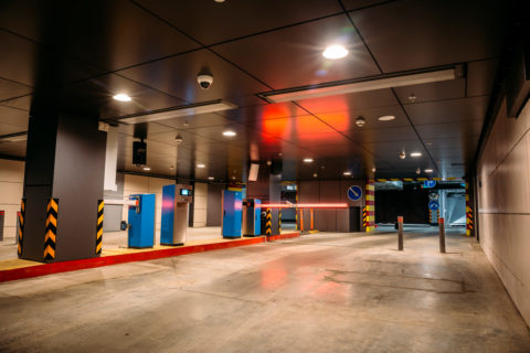 Underground parking security is easy for Forbel.