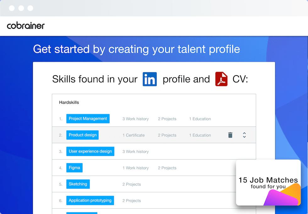 Screenshot Cobrainer Software for Employees