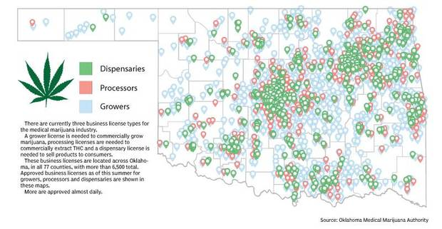 Oklahoma's young marijuana industry's growth exceeds expectations