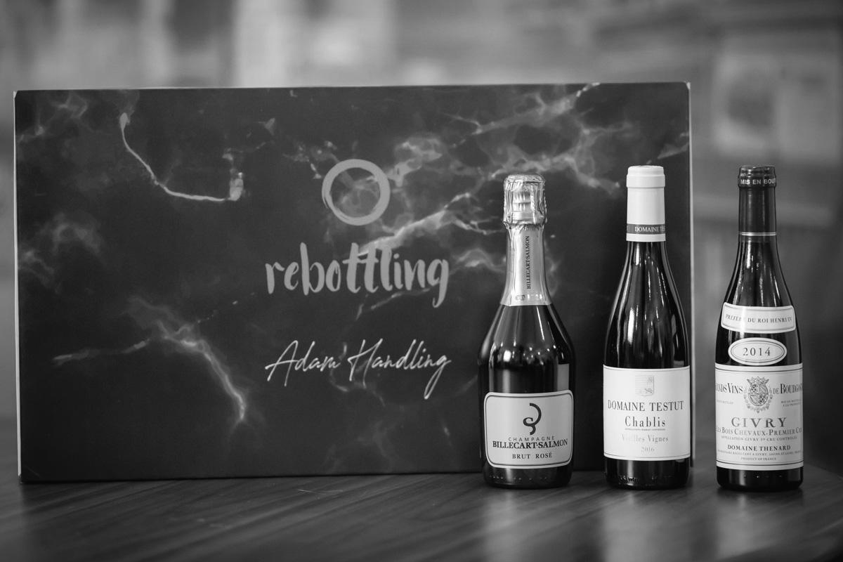"""Champagne Billecart-Salmon, Brut Rose NV, Domaine Testut Chablis """"Vielles Vignes"""" 2016 & Domaine Baron Thenard Givry 1et Cru """"Bois Chevaux"""" 2015"""