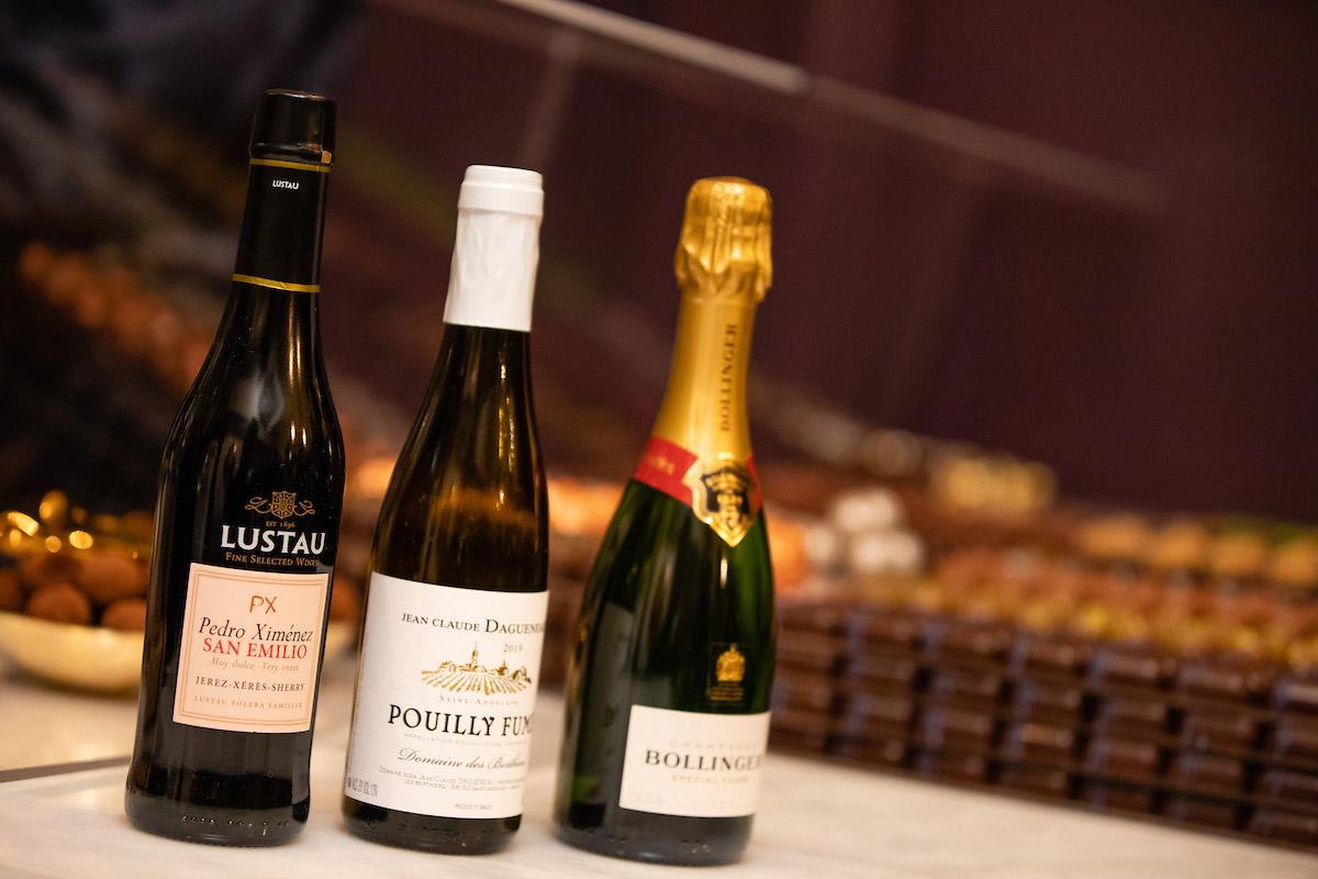 Chocolate & wine assortment