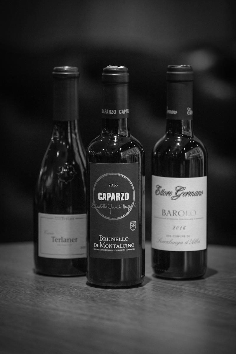 Cantina Terlano Terlaner Cuvée 2020, Caparzo Brunello Di Montalcino 2016 & Germano Barolo 2016