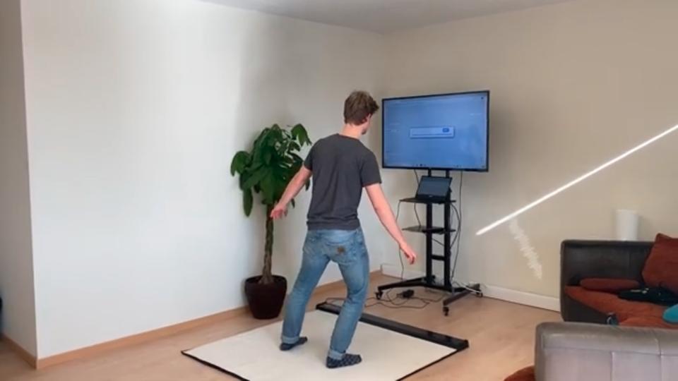 Evenwicht in kaart brengen met Balance Test