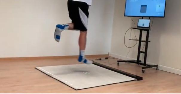 Analyseer sprong met Vertical Jump