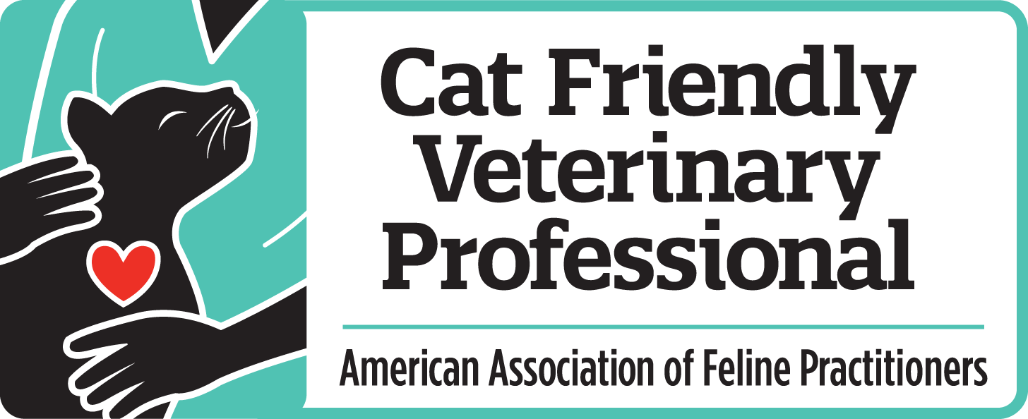 Cat Friendly Veterinary Professional through the American Association of Feline Practitioners Cat Friendly program.