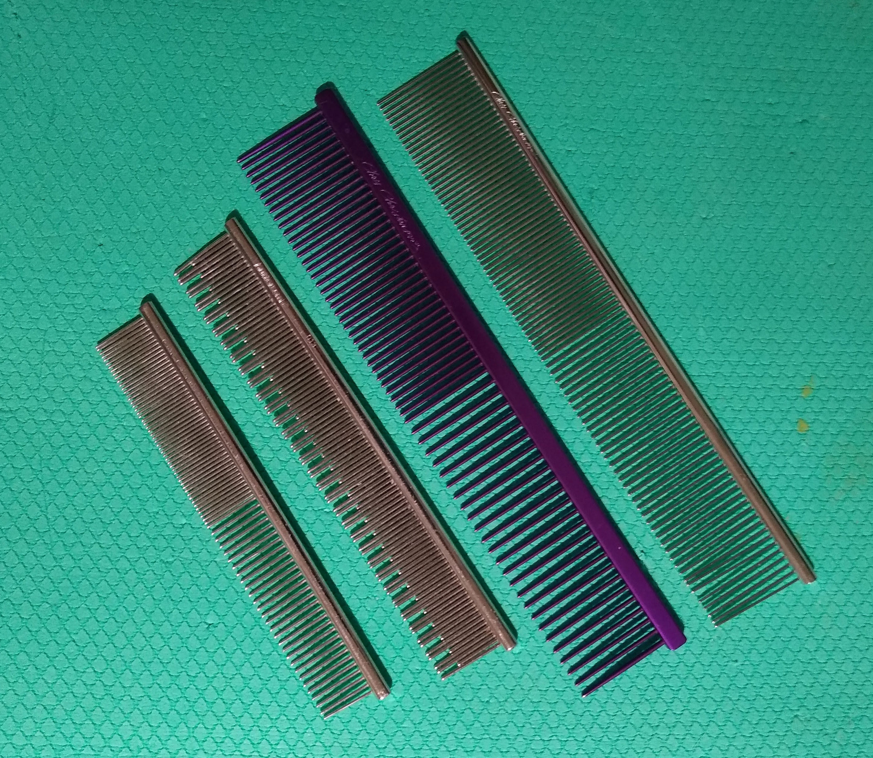 My favorite and most used combs.