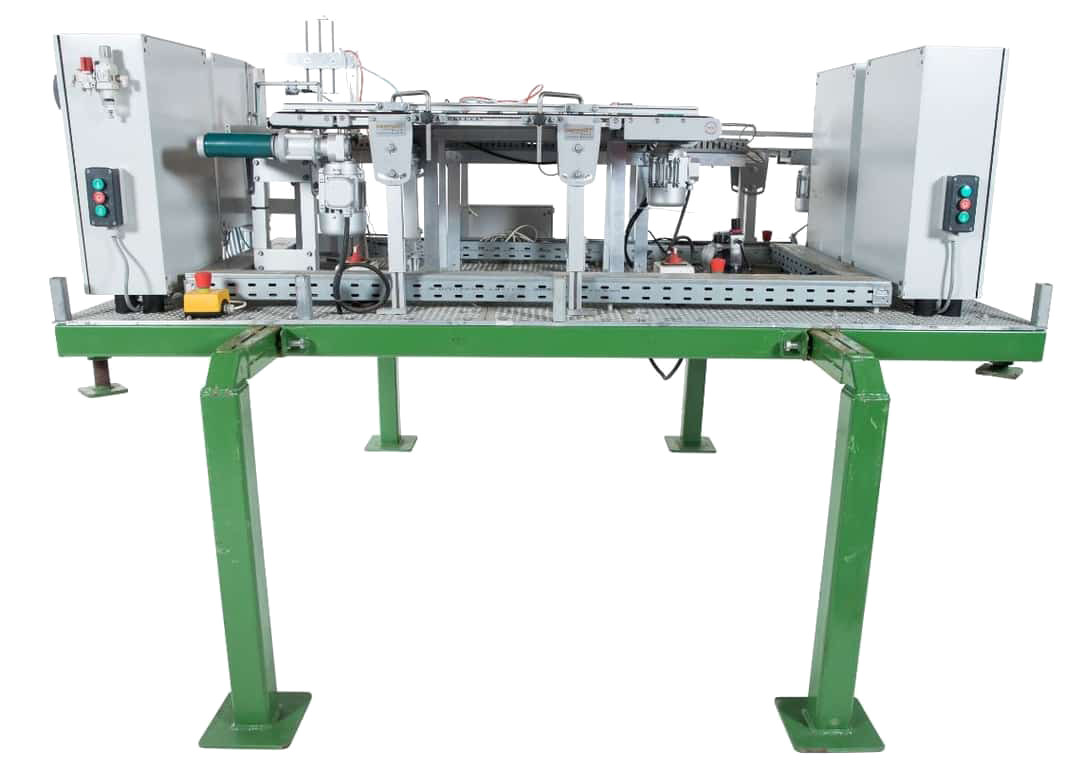 TEO miniatuur fabriekopstelling