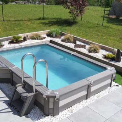 Kit piscine en acier Azteck