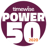 Timewise power 50 2020 Logo