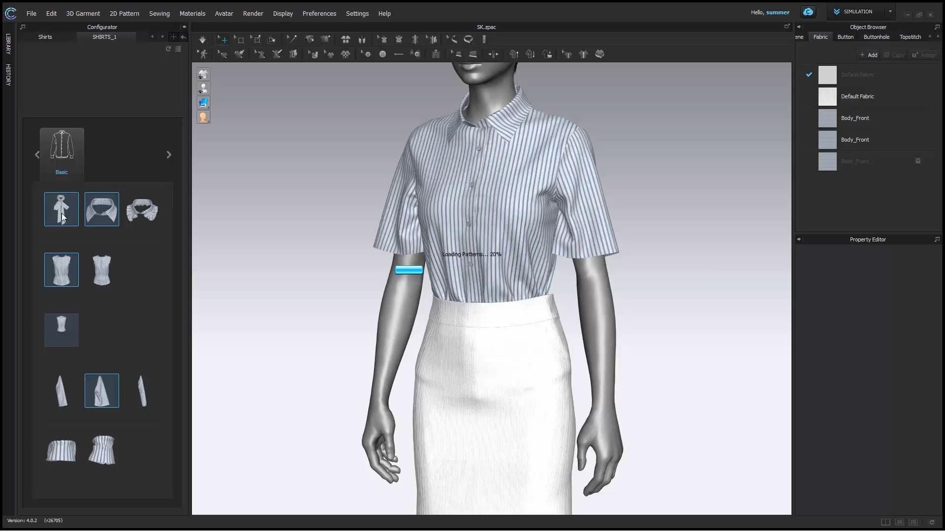 Clo 3D Software