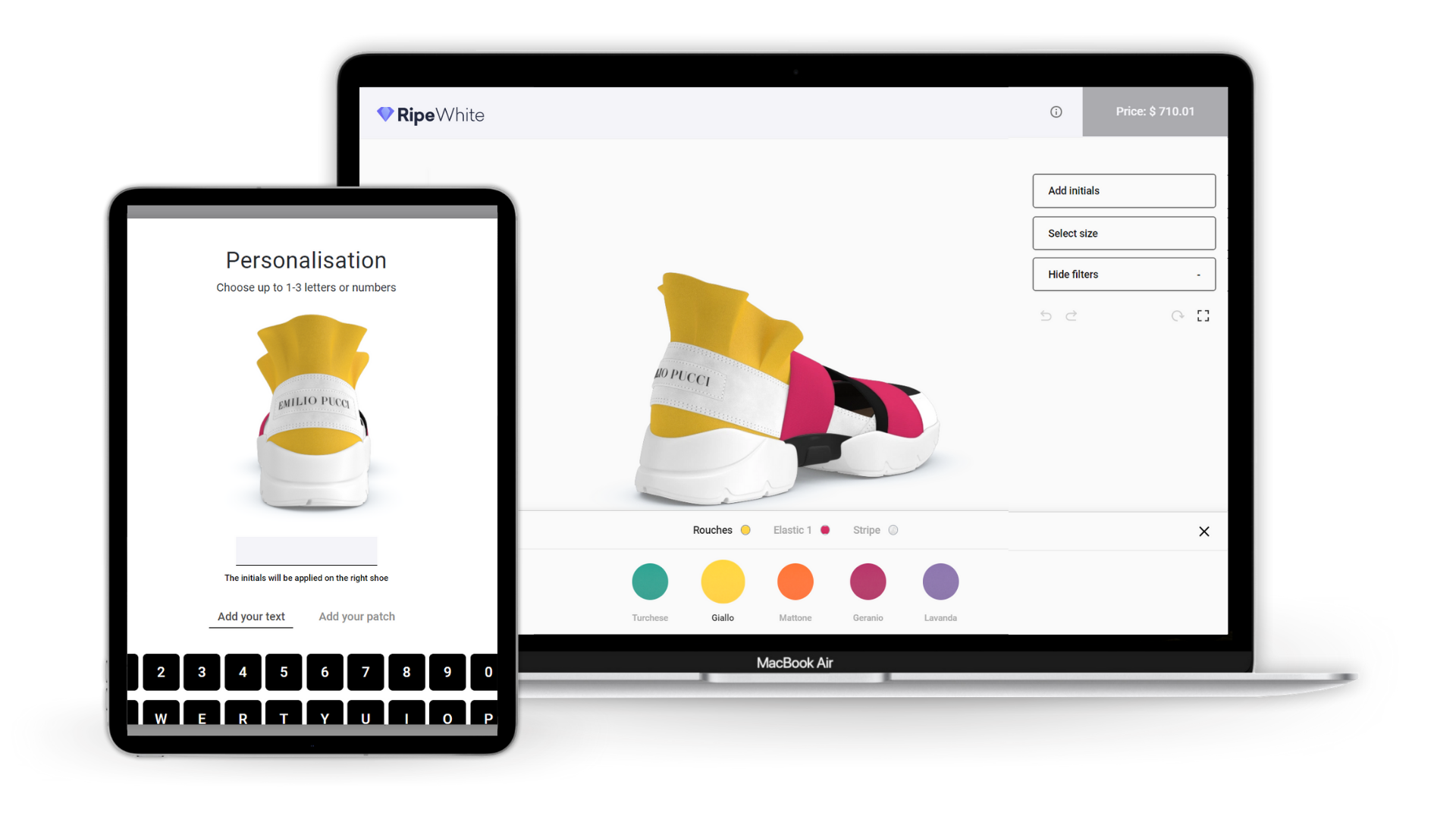 PlatformE RIPE White Product Configurator technology platform