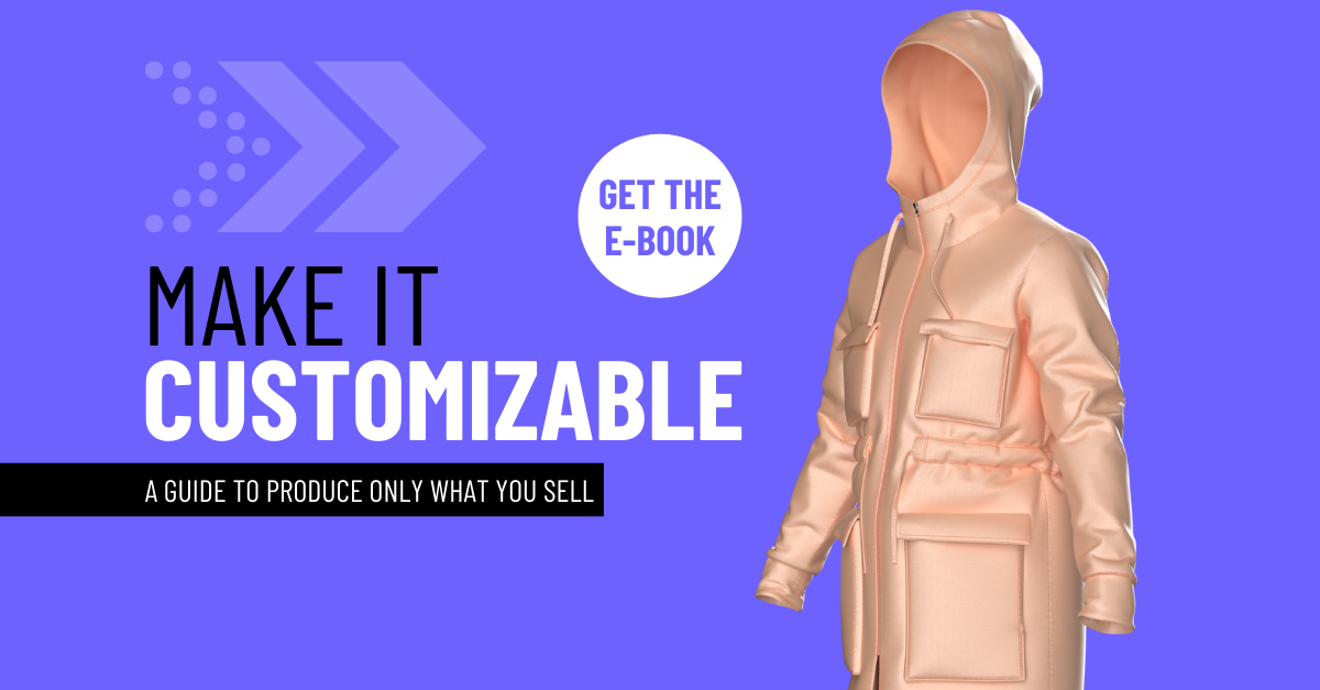 Download the e-book Make it Customizable: A Guide To Produce Only What You Sell