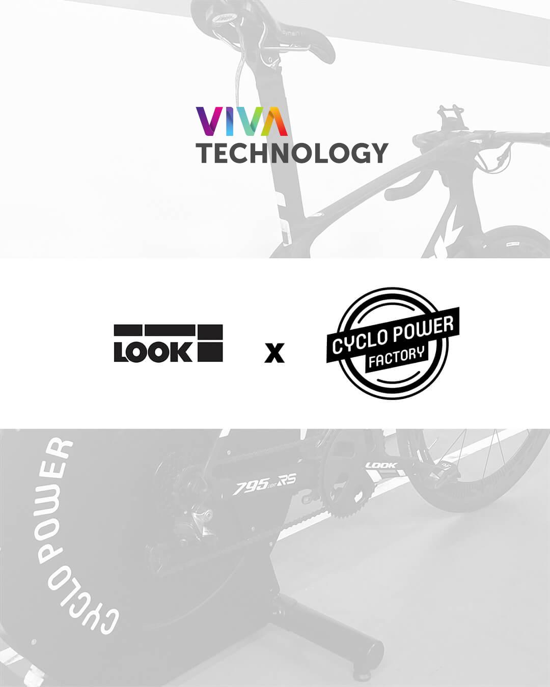 Cyclo Power Factory annonce son partenariat avec LOOK au salon Vivatech 2021