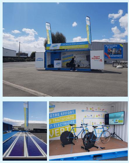 Cyclo Power Factory et ses partenaires Décathlon Village Bron et GEANE Fitness club pour le Tour de France 2021