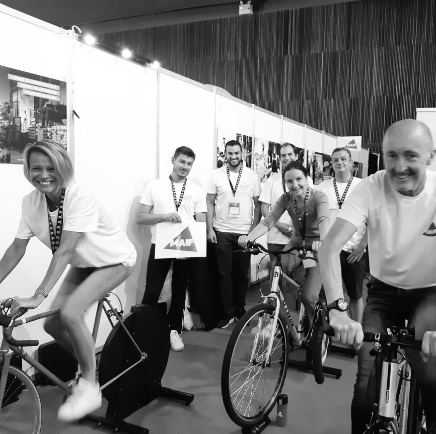 Juillet 2021 : Cyclo Power Factory et la MAIF  à l''Eco Trail de Paris !