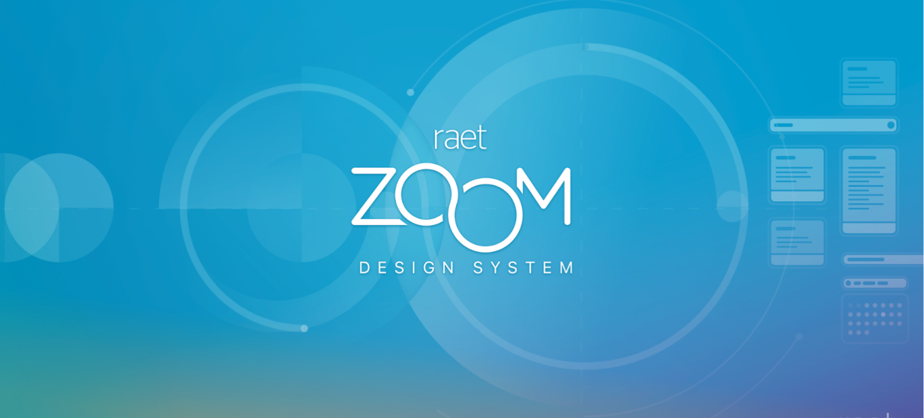 Visual of the ZOOM Design System