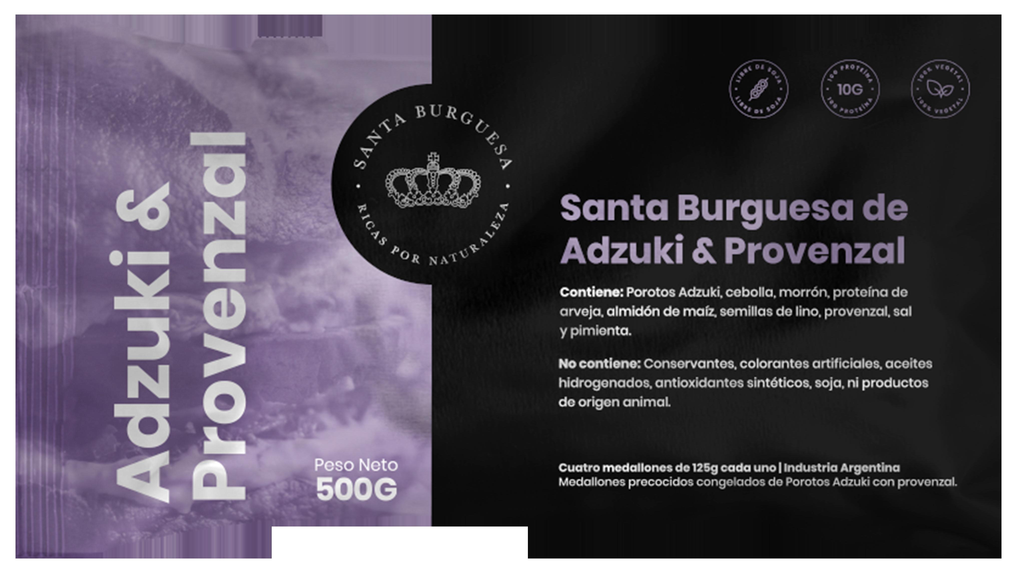 Santa Burguesa de Adzuki & Provenzal