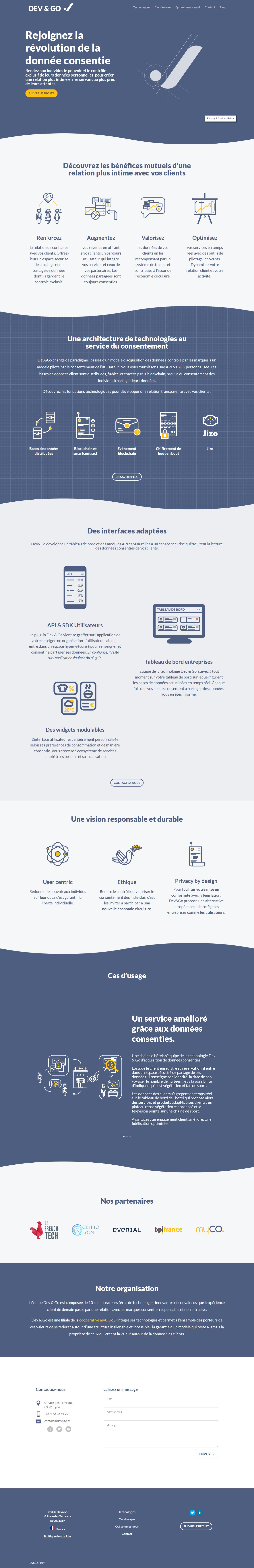site institutionnel 2 screenshot