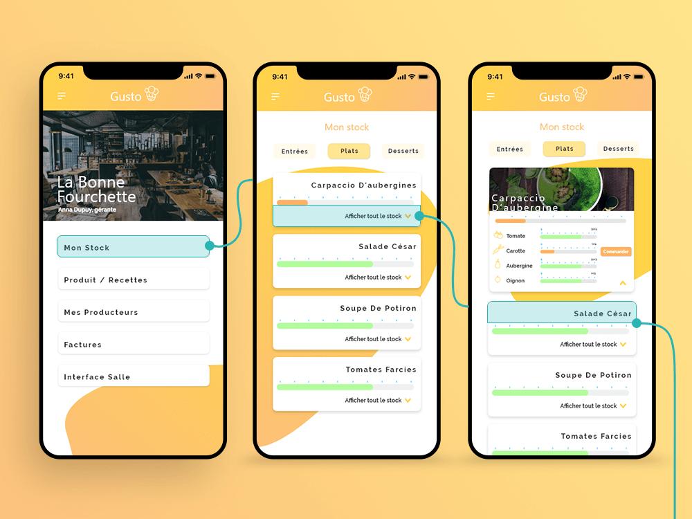 screen application
