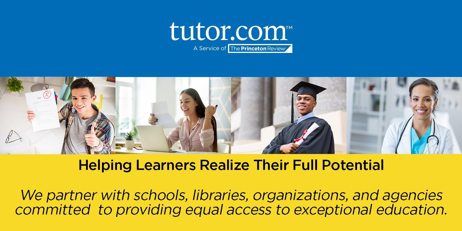 An image of Tutor.com mission statement