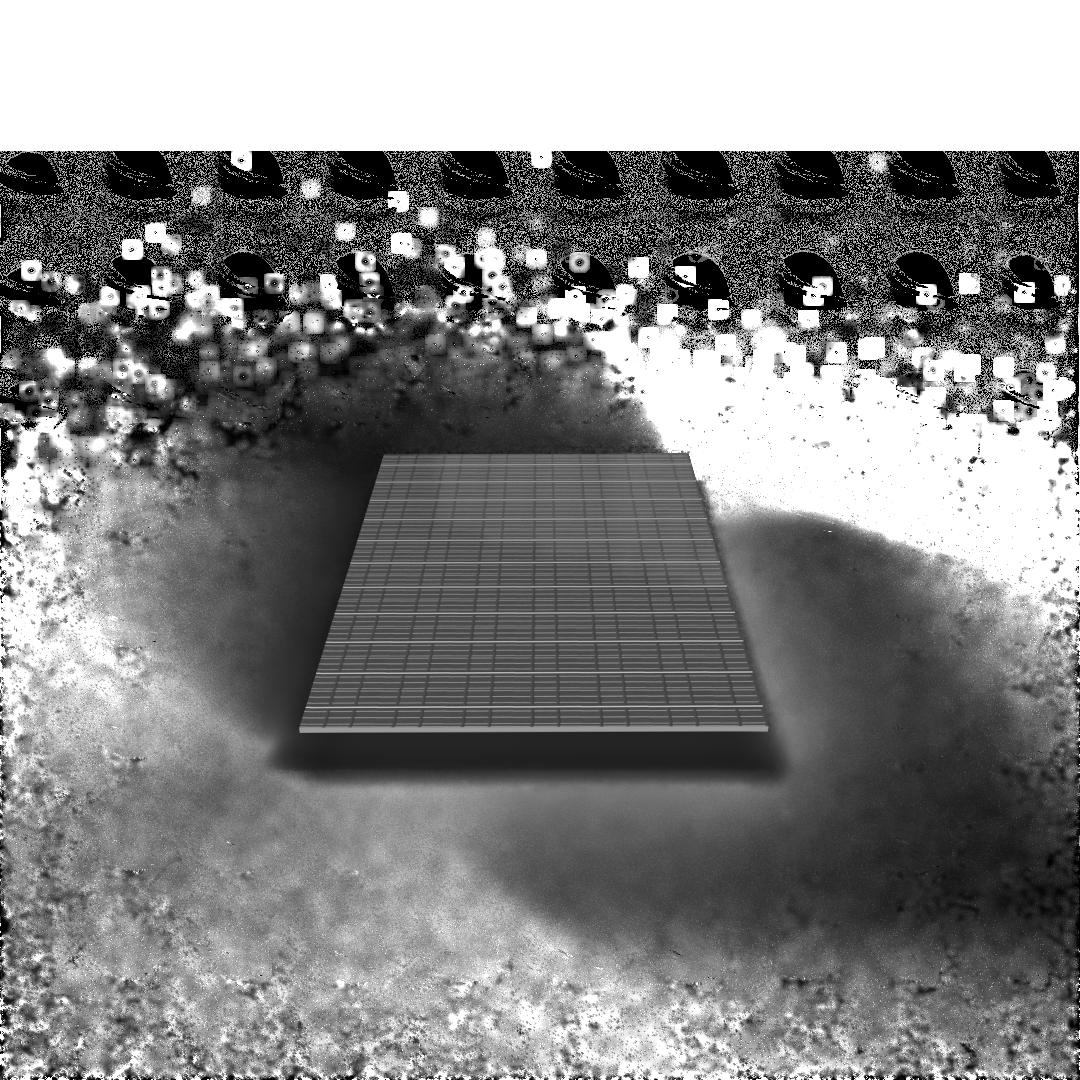 3-D Model of an solar roof tile