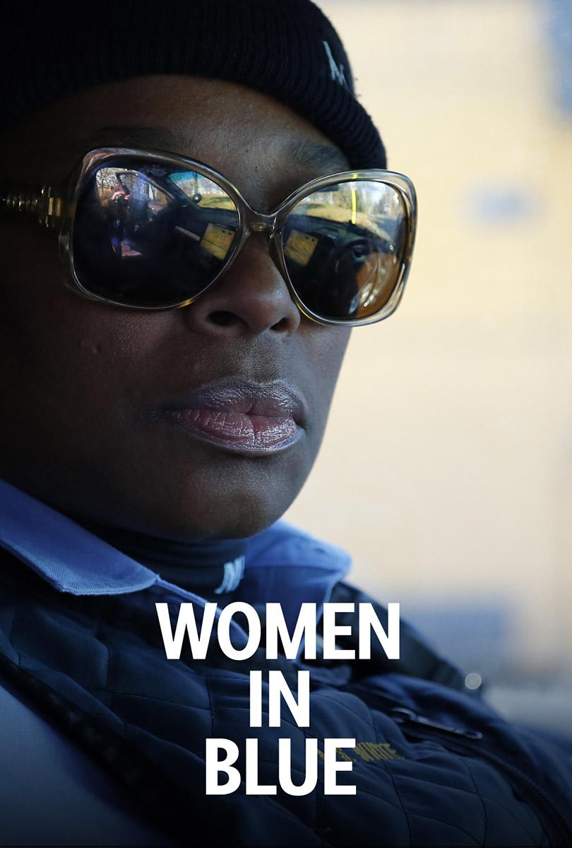 Women in Blue poster