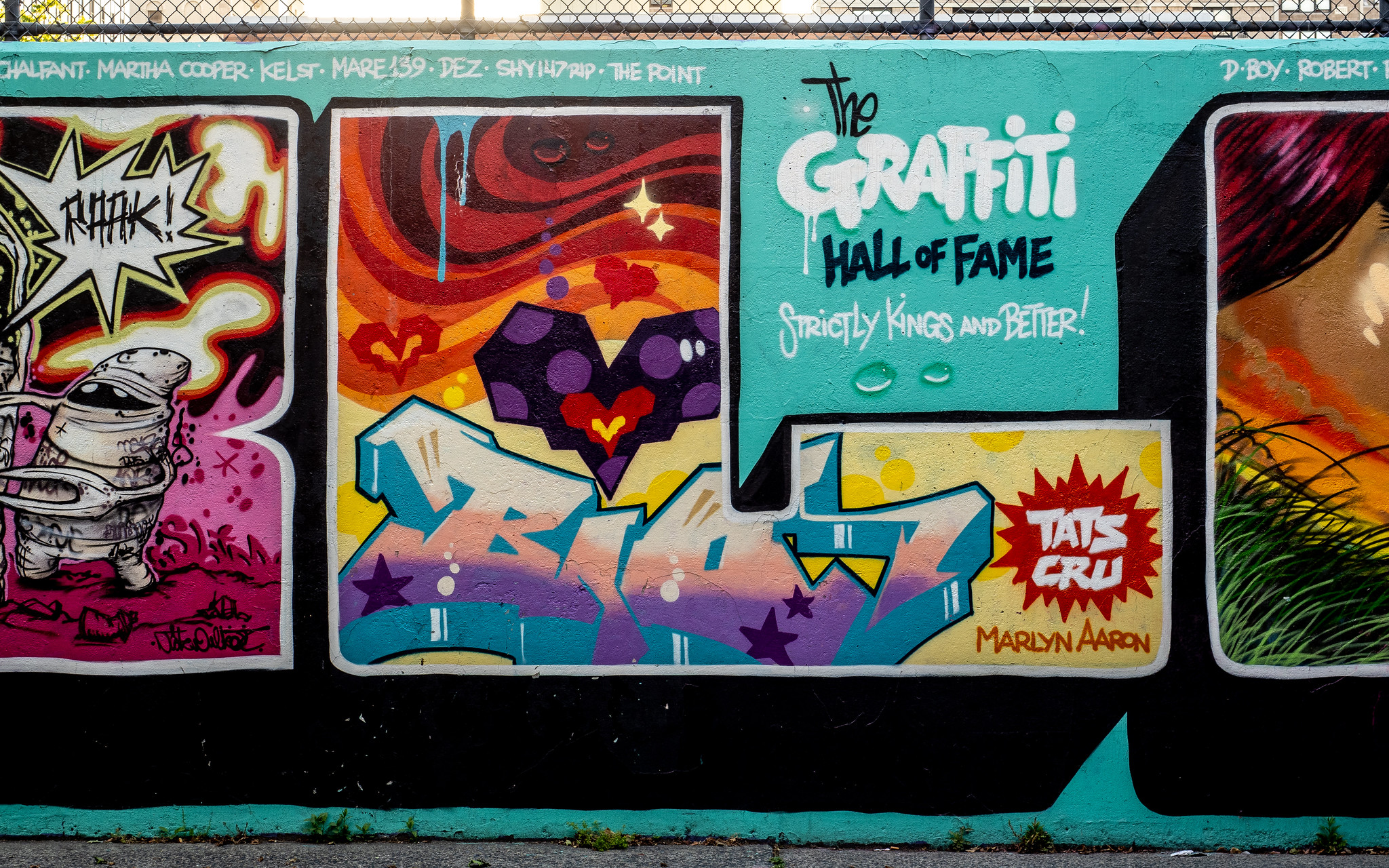 Graffiti Hall of Fame: What This Worldwide Gallery of Street Art is All About