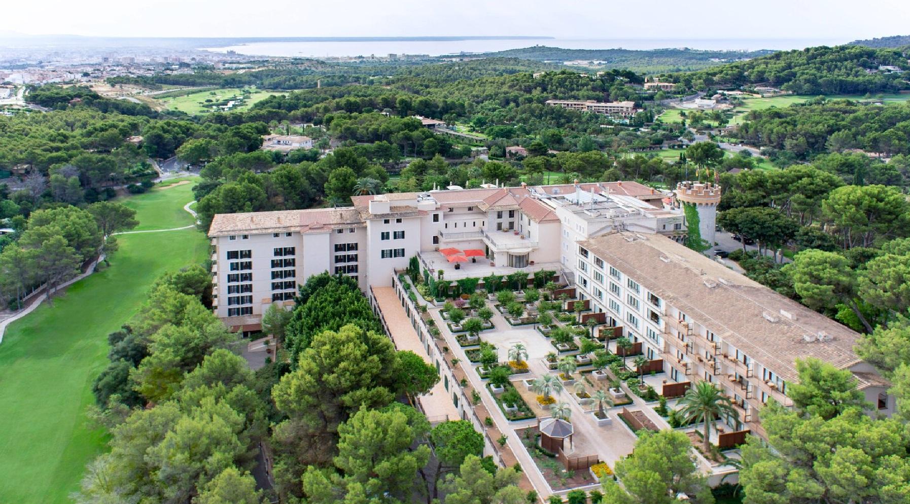 Castillo Hotel Son Vida, Majorka, Hiszpania