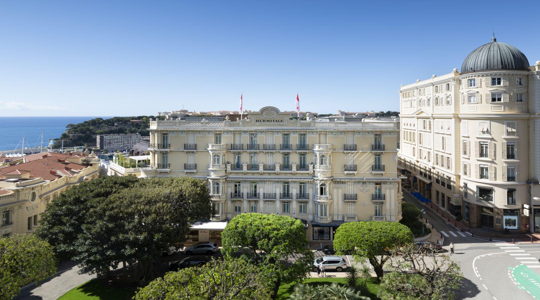 Hotel Hermitage, Monte Carlo, Monako