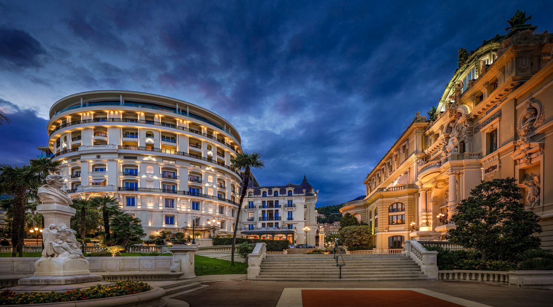 Hotel de Paris, Monte Carlo, Monako
