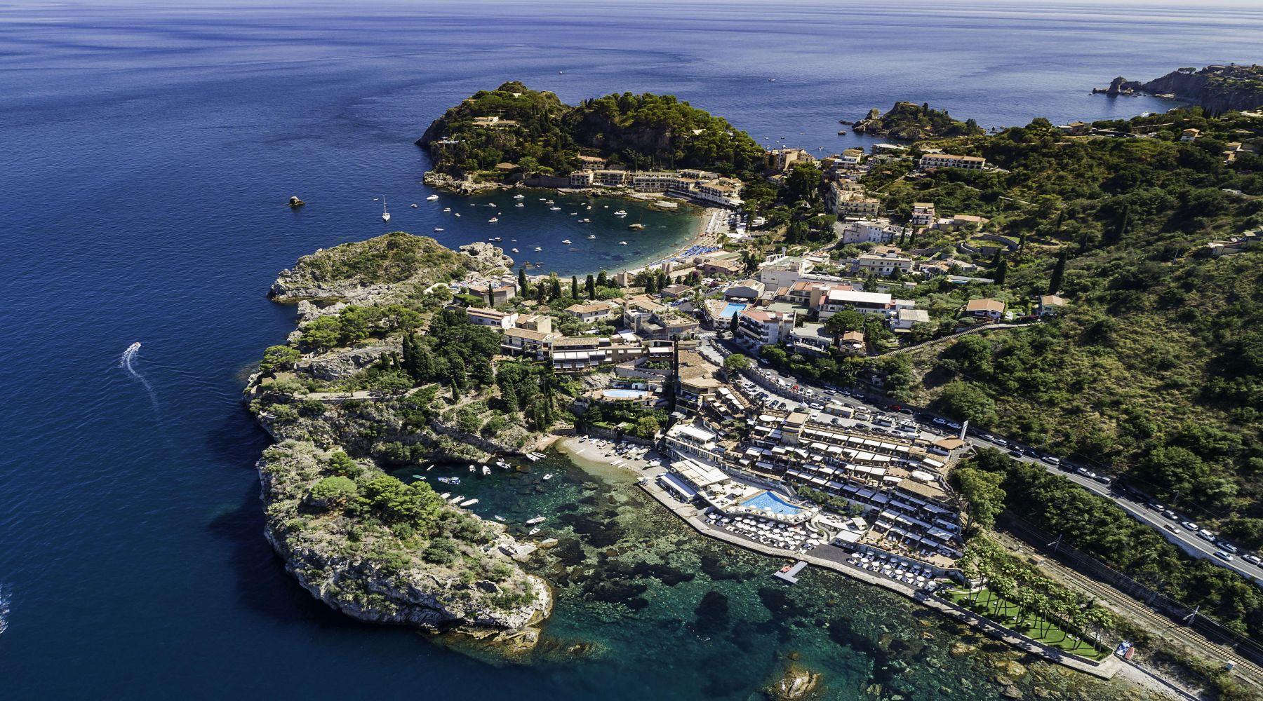 Grand Hotel Atlantis Bay, Taormina, Sycylia
